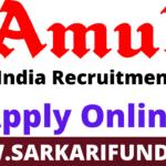 Amul Dairy Recruitment 2021